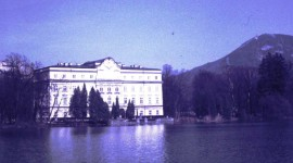 The movie set for the Von Trapp house