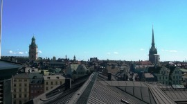 stockholm rooftops