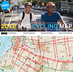 NYC official 2012 Cycling Map