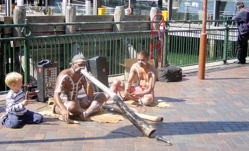 The sound of the didgeridoo was part of aboriginal story telling in Australia (Credit: MCArnott)