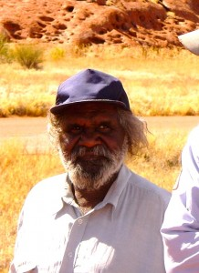 Mark Kulitja Senior Aboriginal Guide Anangu Tours (Credit: MCArnott)