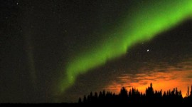 Aurora Borealis, photo courtesy of Jill Browne