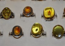 Baltic amber pendants