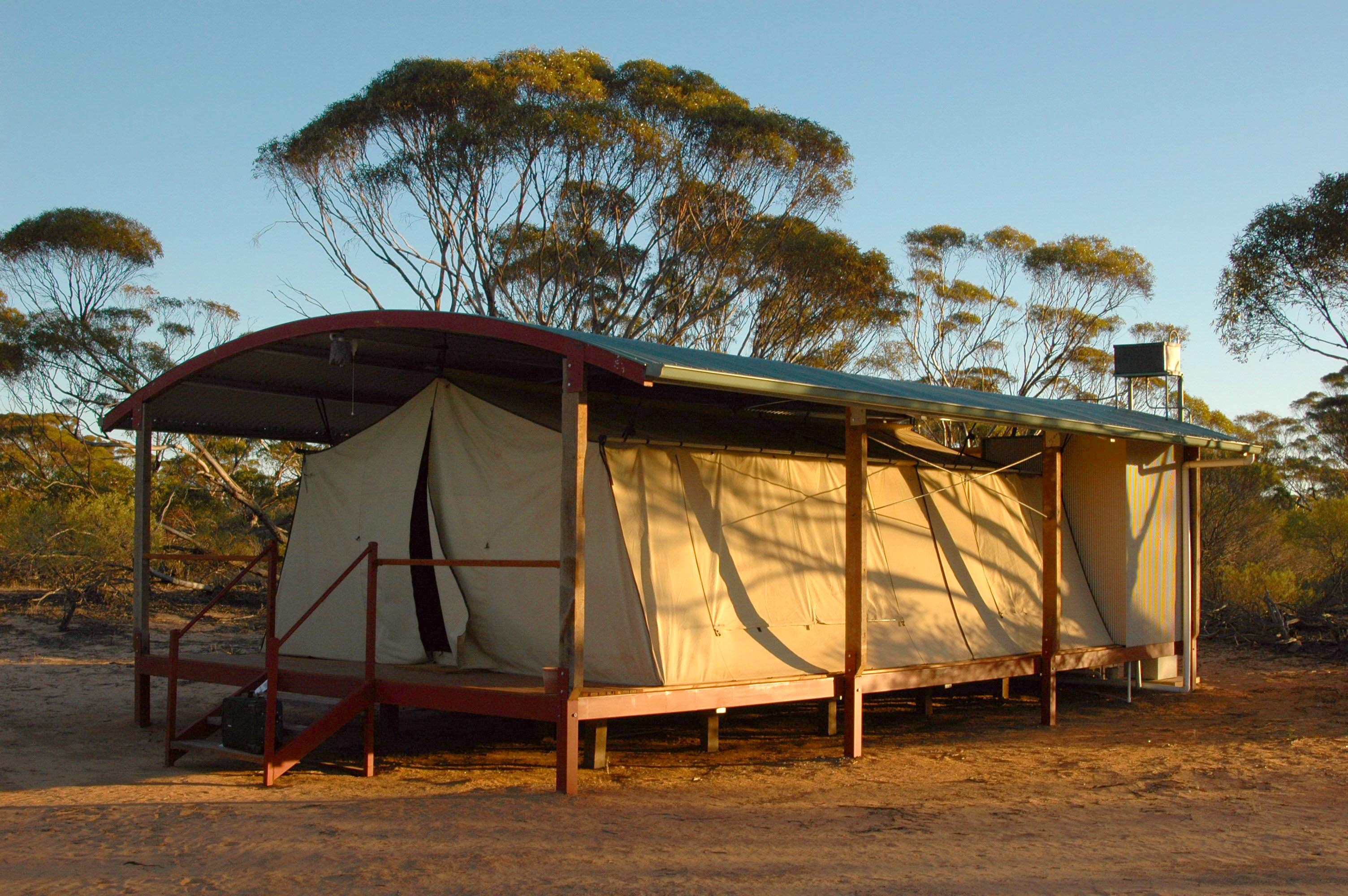 Tents at Kangaluna C& near Gawler Ranges National Park are more luxurious than you might think & Gawler Ranges safari tent u2014 BucketTripper