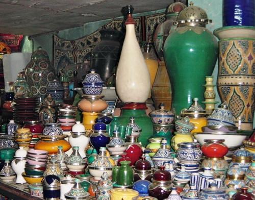 Moroccan ceramics (Credit: MCArnott)