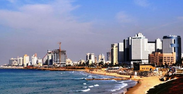 Tel Aviv from the Bike Path