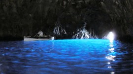Blue Grotto in Capri