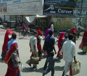 India's contrasts and challenges are seen on the streets of Jodhpur (Credit:MCArnott)