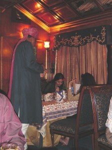 Dining Room on the Palace on Wheels (Credit: MCArnott)
