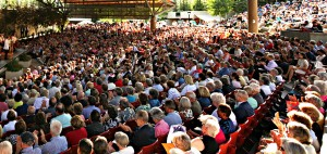 Vail Music Festival audience