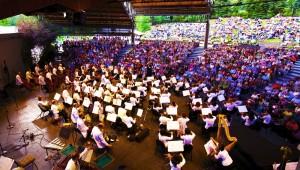 NY Philharmonic at Vail Music Festival Photo credit: Chris Lee