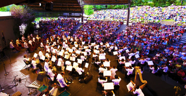 NY Philharmonic at Vail Music Festival Photo credit: Chris Lee