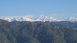 Enjoy Views of Nanda Devi From a Cottage at Jilling Estate