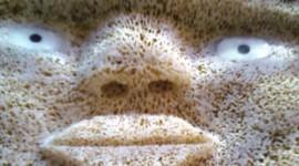 Alaskan whalebone mask