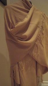 Shawl Made of Pashmina and Silk (Credit: MCArnott)