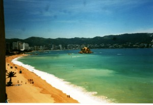Bahia de Acapulco from a nearby cliff (Credit: MCArnott)