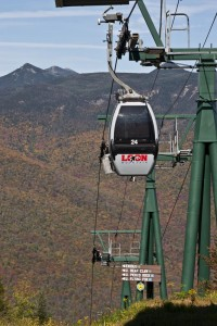 Gondola to Summit of Loon Mountain