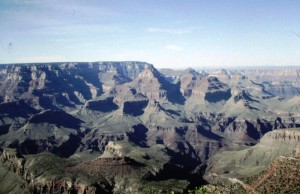 The layers of the Canyon show its geological history.