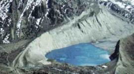 Nepal Annapurna Trek near Manang