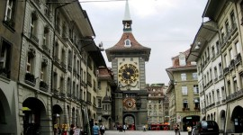 Approaching Zytglogge, Bern's Old City (Photo credit: Satu Rommi)