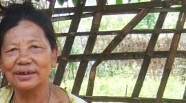 Thai village woman closeup
