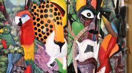 Costa Rica Boruca masks