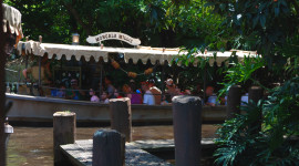 Jungle Cruise boat at Walt Disney World's Magic Kingdom
