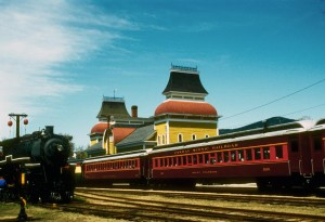 Scenic Railroad Station in North Conway (Stillman Rogers Photo)