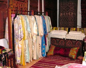 Moroccan vintage caftans (Credit: MCArnott)