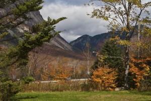 Fall Colors in Franconia Notch (Stillman Rogers Photo)
