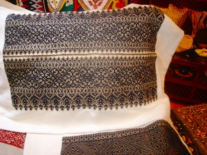 Traditional fabric of Fez (Credit: MCArnott)