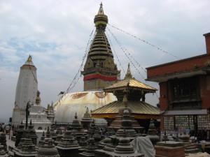 Swayambhunath (Monkey Temple) in Kathmandu, Nepal
