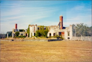 The ruins of Dungeness at Cumberland Island
