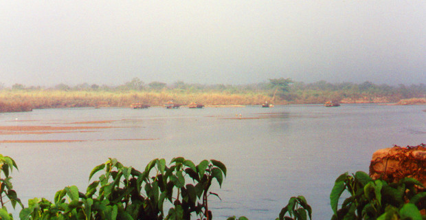 Savannas across the Rapiti River