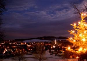 Seiffen on a December evening