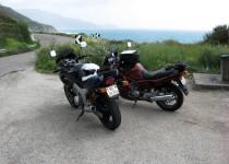 Two motorbikes in Sardinia