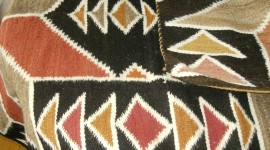 Traditional Navajo blanket