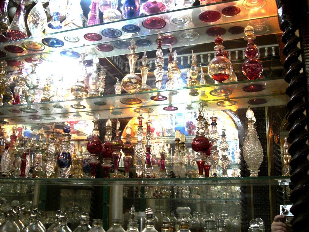 Perfume shop at khan el khalili