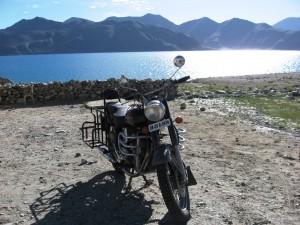 Pangong Tso in Ladakh, India
