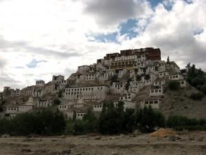 Thikse Gompa near Leh, Ladakh