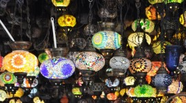 Turkish glass lamps