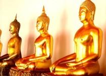 Wat Pho Buddhas, Thailand
