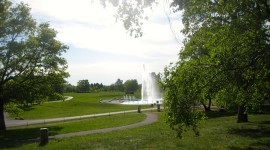 Fountain at the Vulcania  park (Photo by MCArnott)