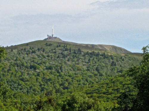 The Puy de Dome last erupted in 5760 B.C. (Photo by MCArnott)