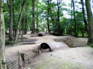 The preserved trenches of Hill 62