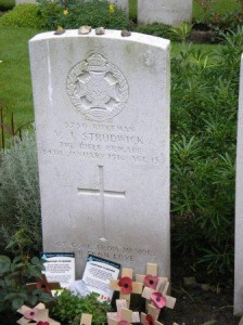 The grave of a boy soldier, Essex Farm Cemetery