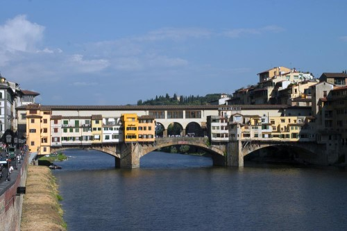 "Ponte Vecchio Leads to Florence's ""Left Bank"" -- the Oltrarno (Photo by Stillman Rogers Photography © 2013)"