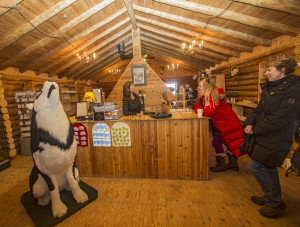 Inside Wapusk General Store, one of Churchill's cute little souvenir shops. Photo by Yvette Cardozo