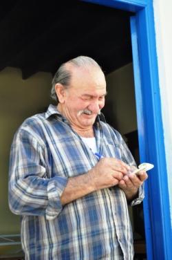 Cafe owner on Nisyros