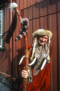 Local Iceland man in Viking costume. Photo by Yvette Cardozo